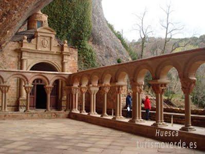 TURISMO VERDE HUESCA: Monasterio de San Juan de la Peña.